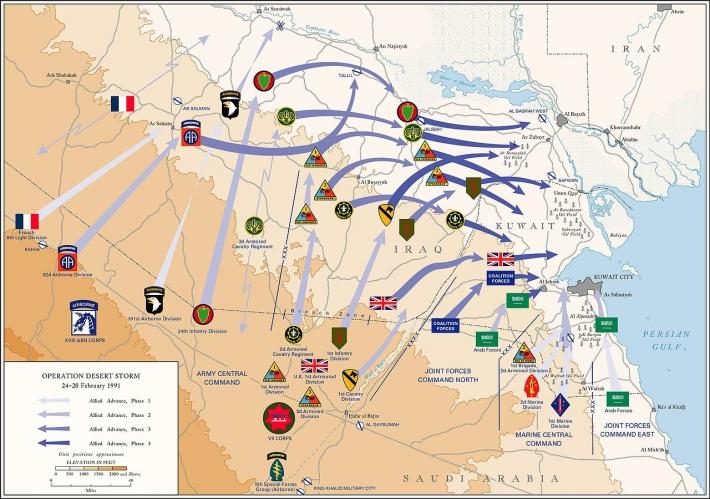 2月28日 湾岸戦争の終結:1991年