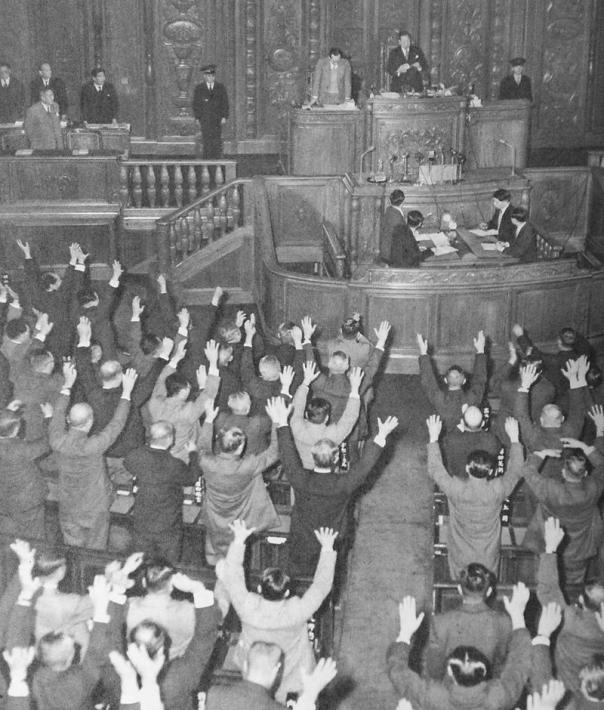3月14日 バカヤロー解散