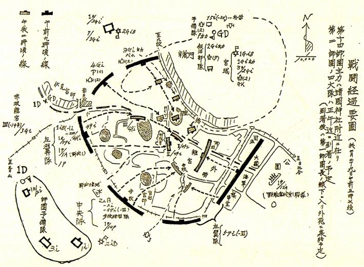 2月26日 二・二六事件包囲図