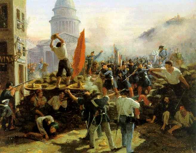2月23日 フランス革命(2月革命)勃発:1848年