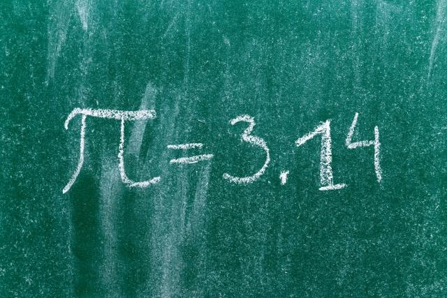 3月14日 円周率(π)の日