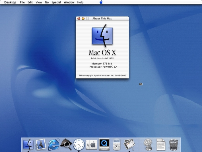 3月24日 「Mac OS X」リリース:2001年