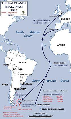 4月2日 マルビナスの日:アルゼンチン