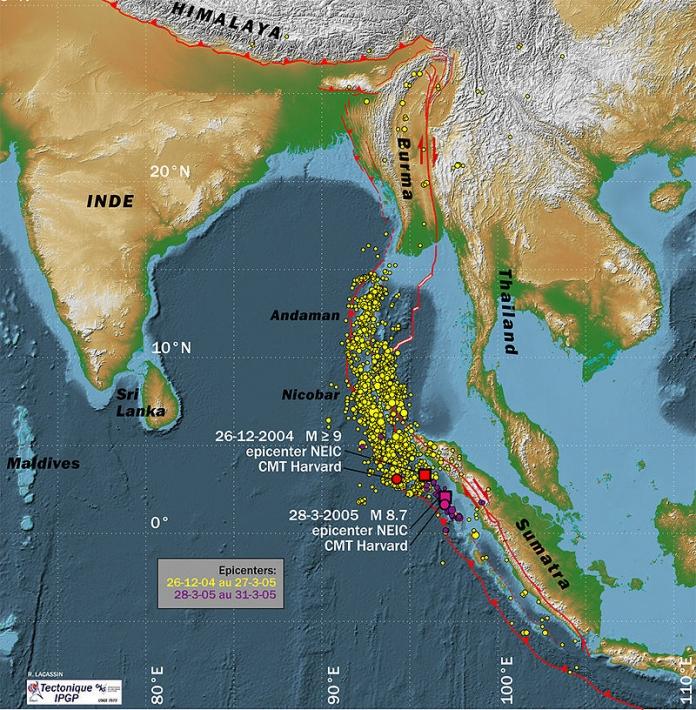 スマトラ島沖地震:2005年