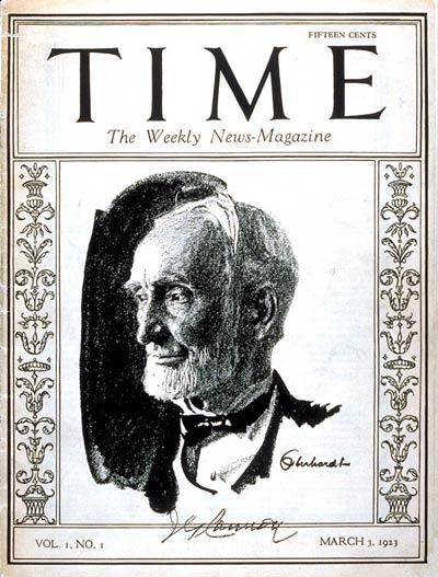 3月3日 世界初のニュース雑誌「タイム」創刊:1923年