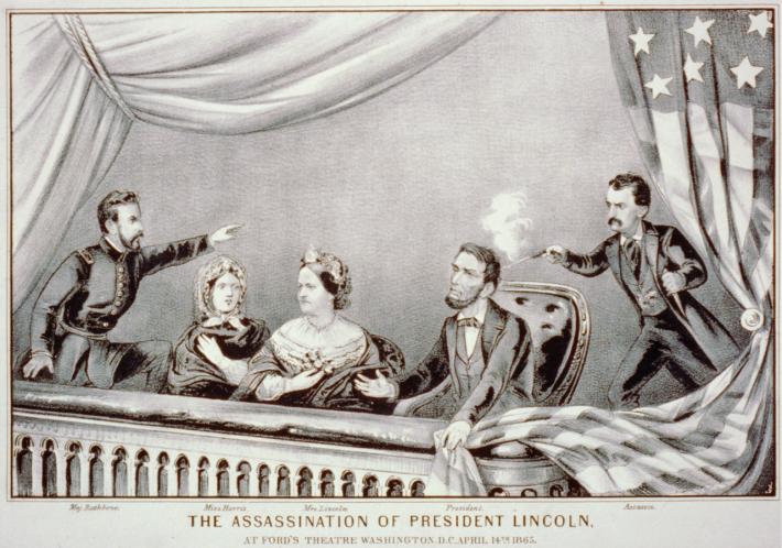 4月14日 リンカーン大統領暗殺事件:1865年