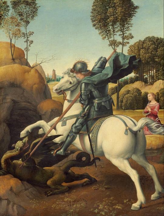 4月23日 聖ゲオルギオスの日(サン・ジョルディの日、聖ジョージの日)