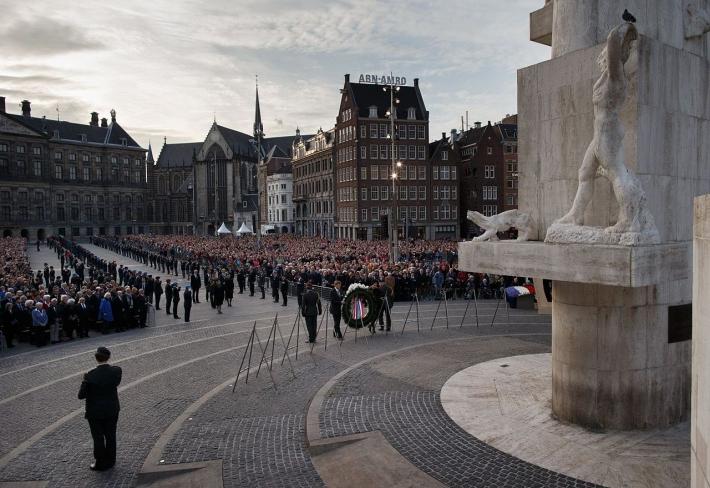 5月4日 戦没者記念日:オランダ