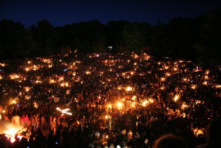 4月30日 ヴァルプルギスの夜(ワルプルギスの夜):中欧・東欧