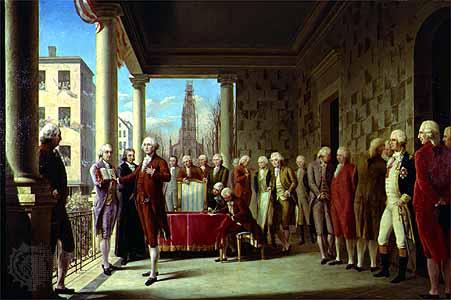 4月30日 「ジョージ・ワシントン」初代アメリカ合衆国大統領就任:1789年